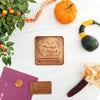 Thankful and Blessed Personalized Chocolate Note