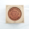 Thanks A Latte Personalized Chocolate Medallions - Box of 3