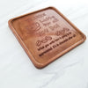 Thanks A Latte Personalized Chocolate Note