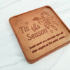 Tis The Season Personalized Chocolate Note