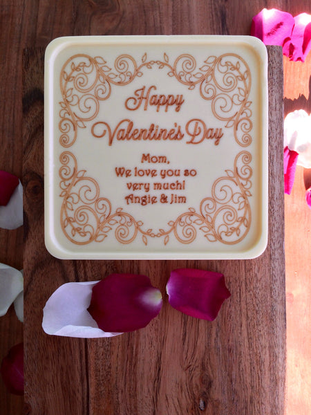 Valentine Vines Chocolate Note