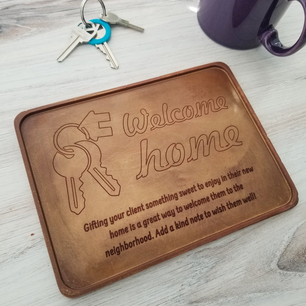 Welcome Home Personalized Chocolate Certificate