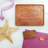 You're Awesome Stars Personalized Chocolate Certificate