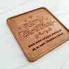 Merry Christmas Personalized Chocolate Note