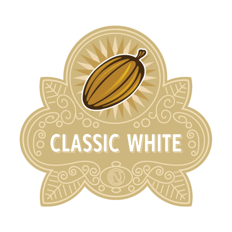 Classic White Chocolate Badge