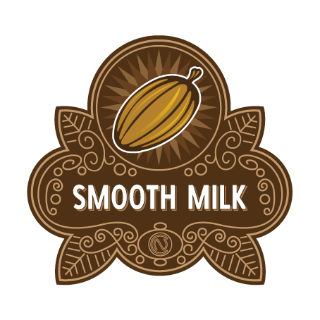 Smooth Milk Chocolate Badge