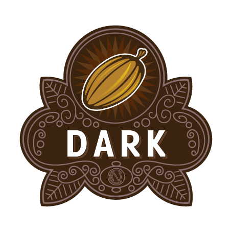 Dark Chocolate Badge