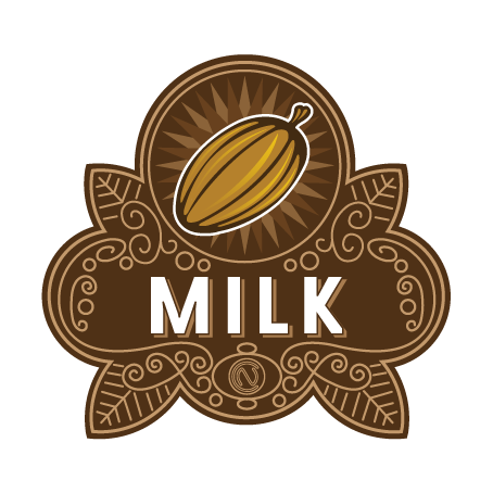 Milk Chocolate Badge