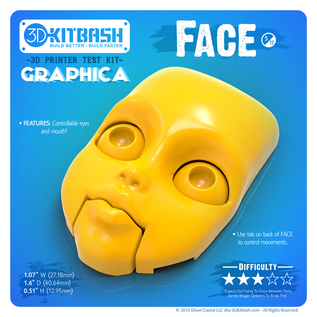 GRAPHICA - Quick-Printing Models For 3D Printing – 3DKToys