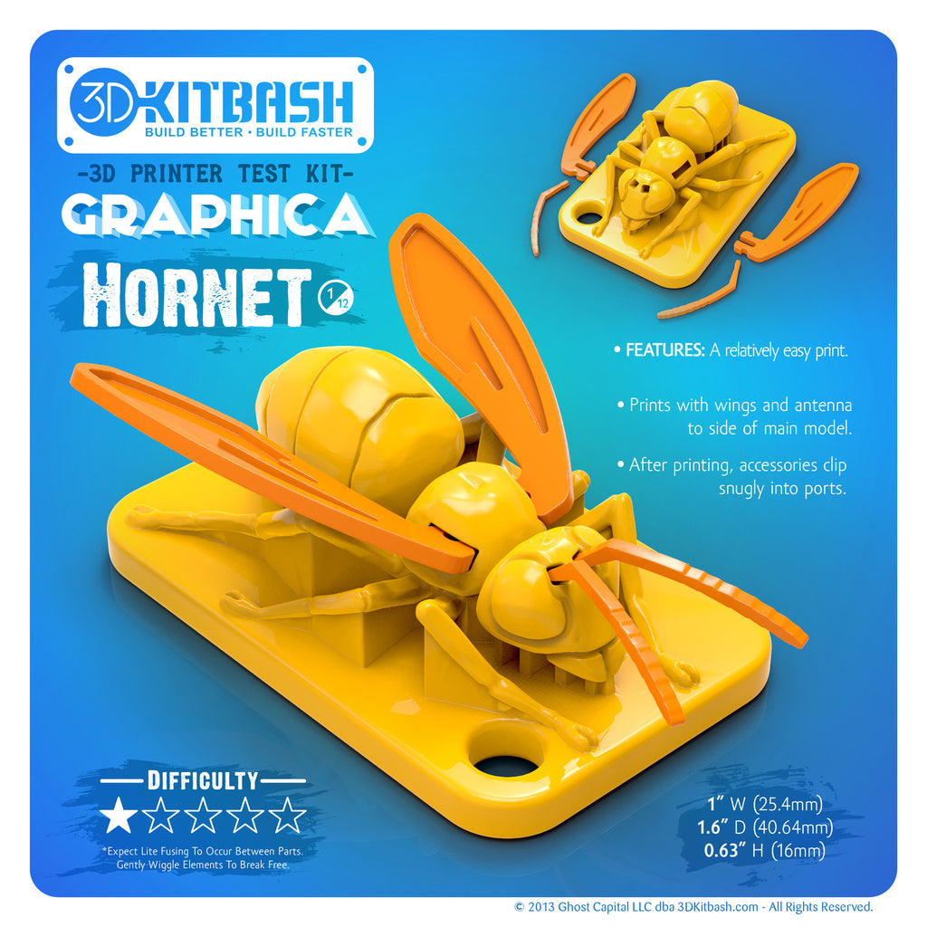 image relating to Free 3d Printable D&d Miniatures referred to as Hornet