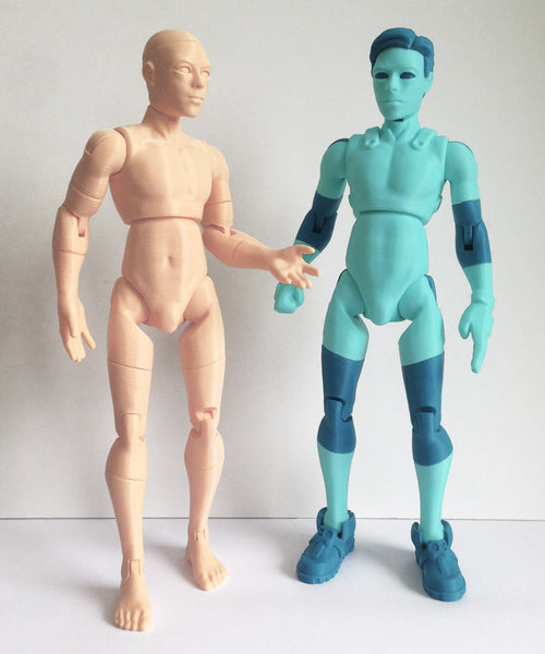 NiQ, The 3D-Printable Action Figure