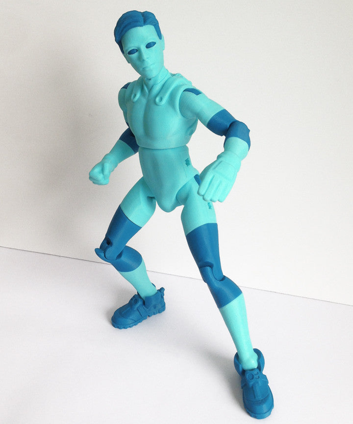 photograph regarding 3d Printable Figures referred to as NiQ, The 3D-Printable Stage Determine