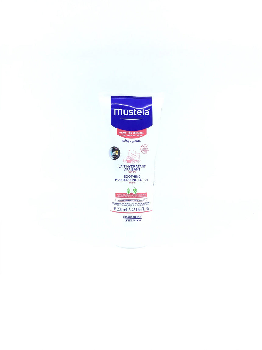 Mustela 無香料舒緩潤膚乳 Bath & Body Mustela