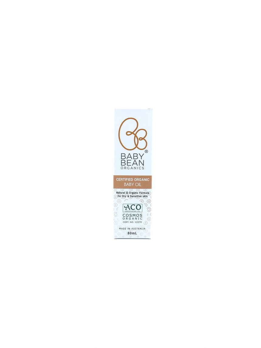 Baby Bean Organics 有機嬰兒潤膚油 Bath & Body Baby Bean Organics