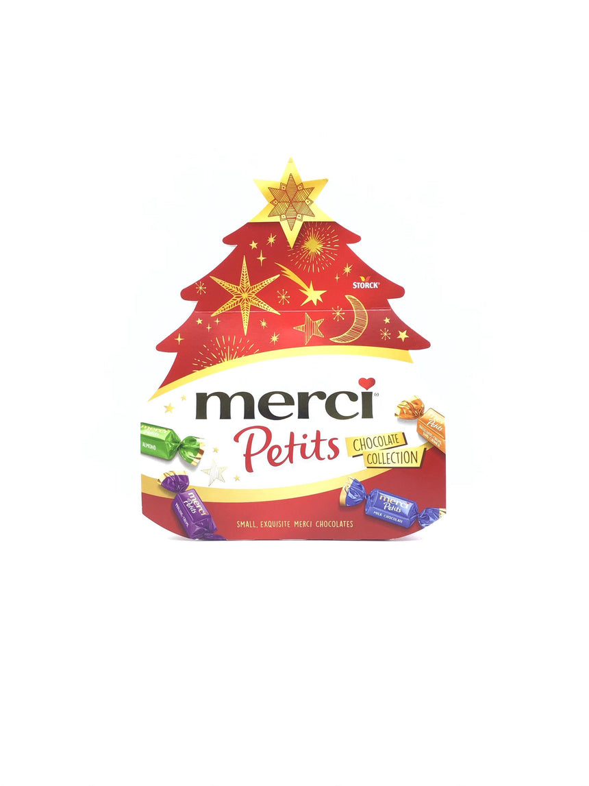 Merci 聖誕樹雜錦朱古力 Western Snacks Merci