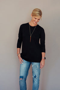 Long Sleeve Layering Tunic