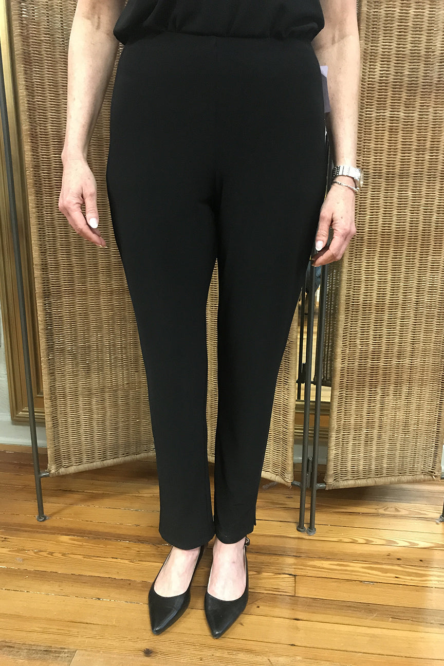 Sympli Narrow Pant Midi in Black