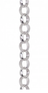 Small Rolo Chain - Sterling Silver - 18""