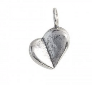 Axiom Charm - Sterling Silver - Heart