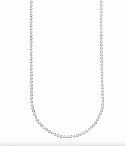 Baby Ball Chain - Sterling Silver - 30 Inch