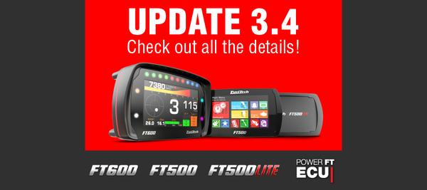 New FT500, FT500LITE and FT600 update
