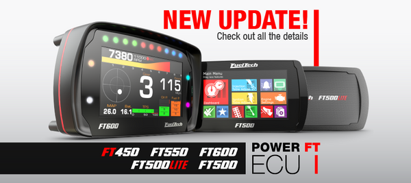 New FT450, FT500, FT500LITE, FT550 and FT600 update!