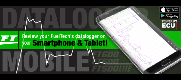 FuelTech Datalog Viewer. View Log Files from your ECU Directly on Mobile!