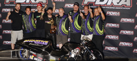"Cycledrag.com - Ronnie ""Pro Mod"" Smith Shatters PDRA Pro Nitrous Record, Wins North-South Shootout!"