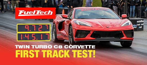 In the 9s | FuelTech C8 Corvette | Anderson Dick