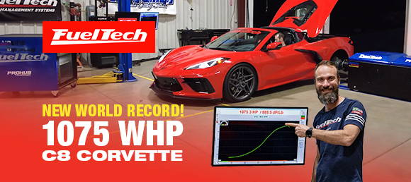 1,075 WHP | Record-Setting FuelTech C8 Corvette | Anderson Dick