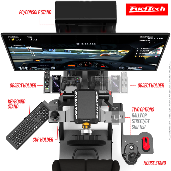 COCKPIT P1 3.0 FULL ACCESORIES - FUELTECH EDITION