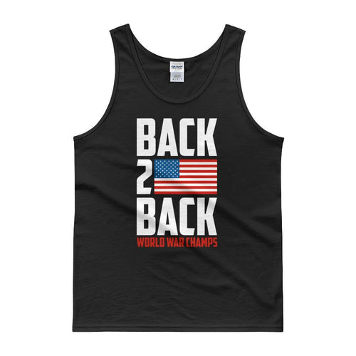 Black / S Back to Back Champs Tank top