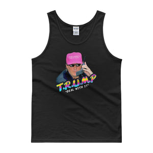 "Trump ""Deal With It"" Tank top - drunkamerica.com"