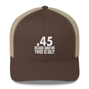 .45 because shooting twice is silly - drunkamerica.com
