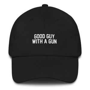 Good Guy with a Gun Dad Hat - drunkamerica.com