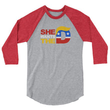 She Wants the D Raglan - drunkamerica.com