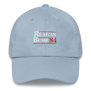 Reagan Bush Dad Hat - drunkamerica.com