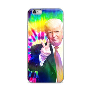 Tie Dye Trump Phone Case - drunkamerica.com