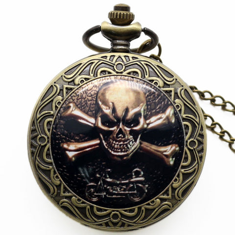 Skull Crossbones Watch