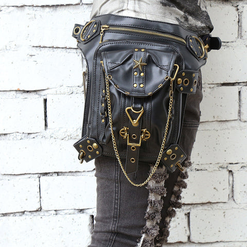 Steampunk Retro Hip Holster Bag