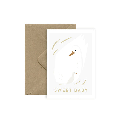 "Carte Naissance ""Sweet Baby"""