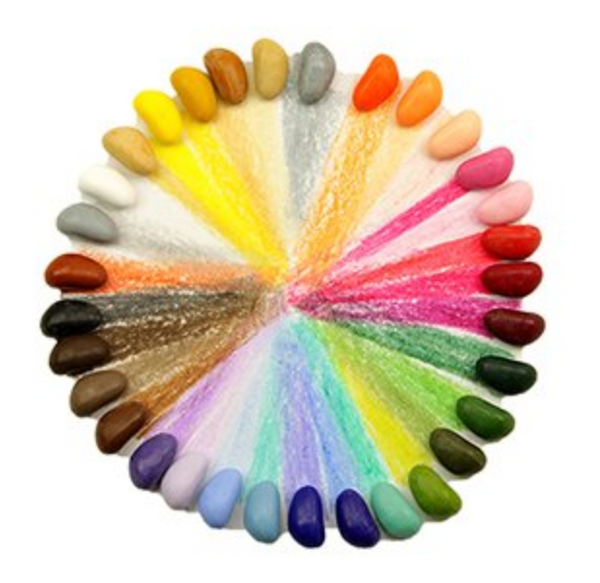 "64 crayons couleurs  ""Crayons in a box"" (32 teintes x 2)"
