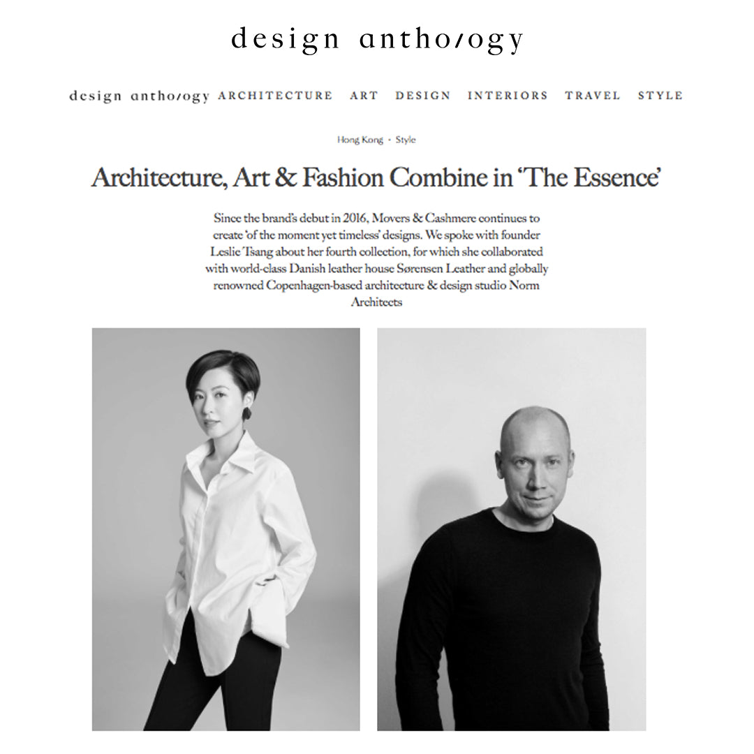 Design Anthology - Movers & Cashmere & Norm Architects - Leslie Tsang & Jonas Bjerre-Poulsen