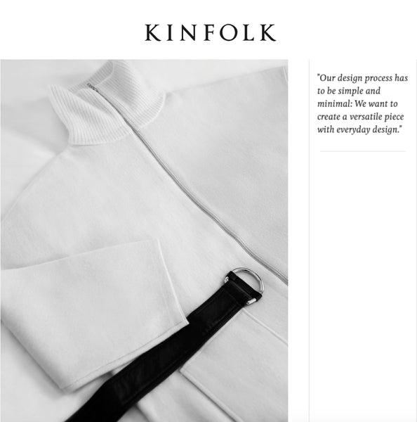 Kinfolk -Movers & Cashmere