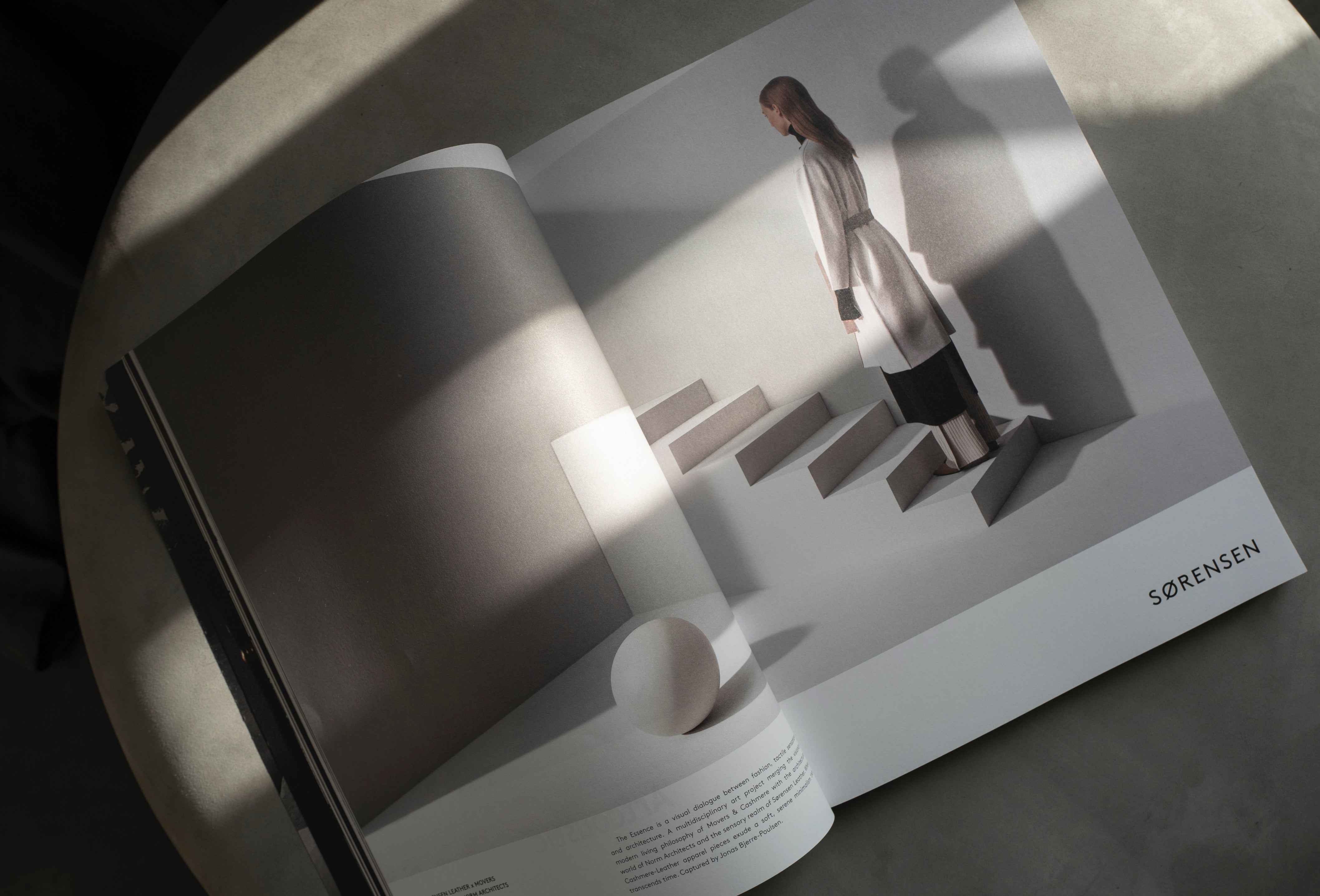 Movers & Cashmere Sorensen Leather Norm Architects - Ark Journal Copenhagen Autumn Winter 2019