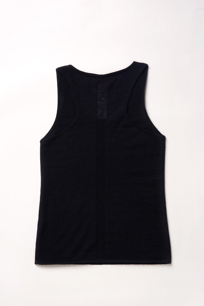 Mover-Breather Cashmere Tank - Black - Movers & Cashmere