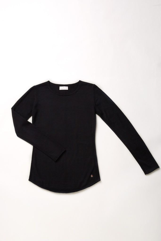 Mover-Breather Cashmere Sweater - Black - Movers & Cashmere