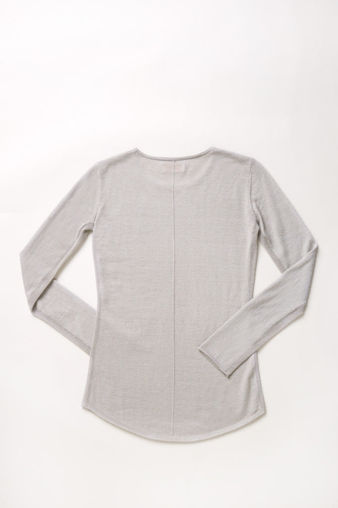 Mover-Breather Cashmere Sweater - String Grey - Movers & Cashmere