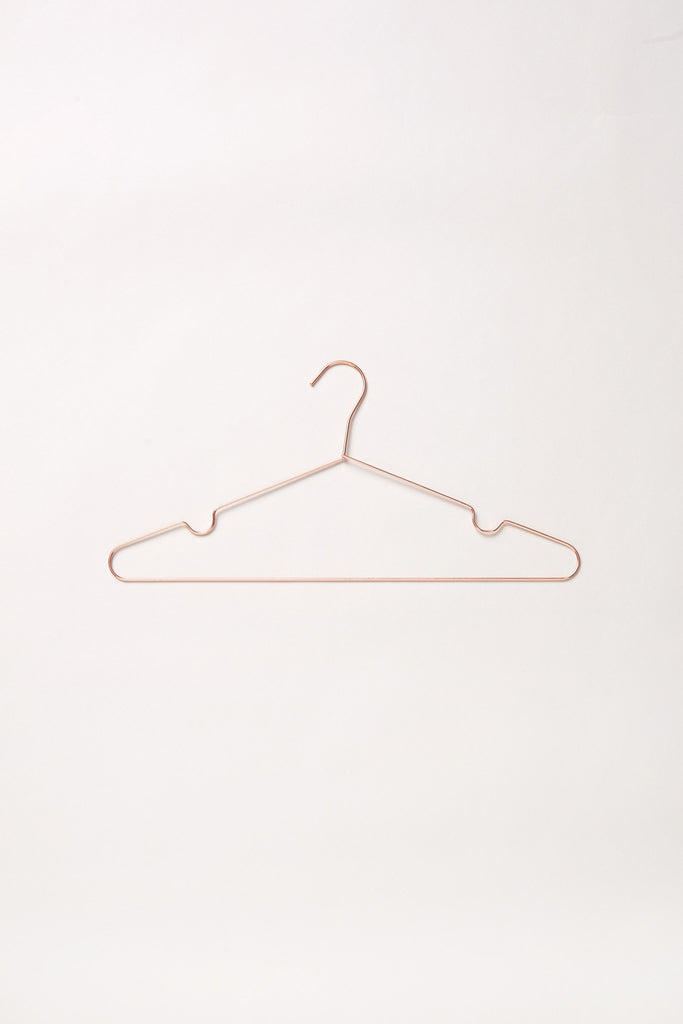 Movers Rose Gold Hanger - Rose Gold (A Set of 5) - Movers & Cashmere