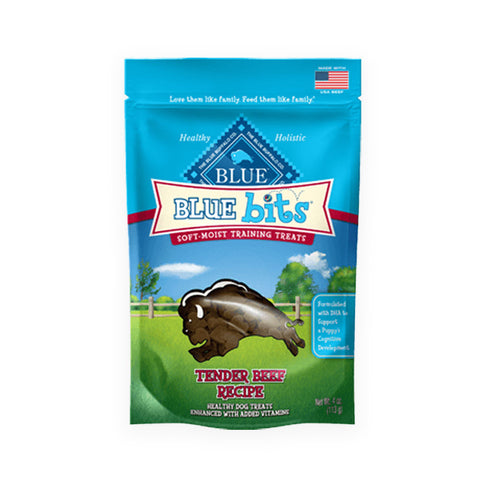 Blue Buffalo Bits Dog Training Treats Beef